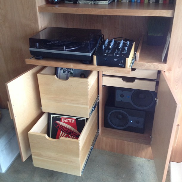 Fresh Cabinets And Fresh Beats With A New Custom Made